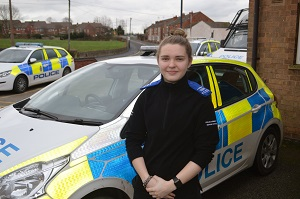 New Pcso Takes To The Streets Of Grassmoor Holmewood Calow And Arkwright Areas
