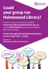 Could your group run Holmewood Library?